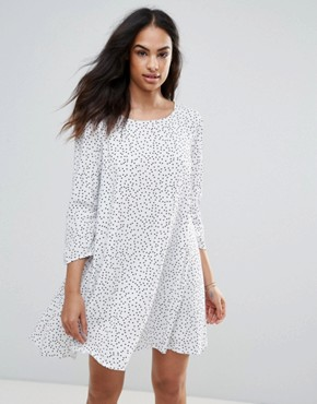 photo Spotty Dress by FRNCH, color White - Image 1