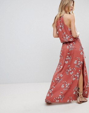 photo Oasis Floral Maxi Dress by the Jetset Diaries, color Floral Print - Image 2
