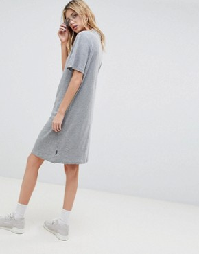 photo Belong Neck Strap Shift Dress by Cheap Monday, color Grey Mel - Image 2