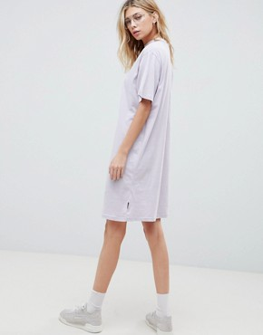 photo Belong Neck Strap Shift Dress by Cheap Monday, color Dust Lilac - Image 2
