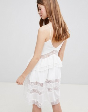 photo Cami Dress by Glamorous, color White - Image 2