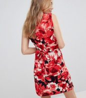 photo V-Neck Dress in Floral Print by Wal G, color Navy Floral - Image 2