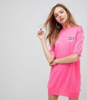 photo Embroidered Icon Knit Dress by Love Moschino, color  - Image 1