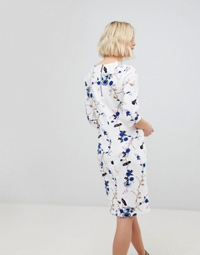 photo Floral Shift Dress by b.Young, color  - Image 2