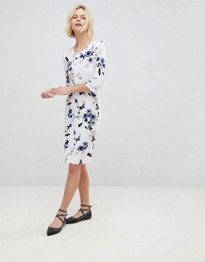 photo Floral Shift Dress by b.Young, color  - Image 4