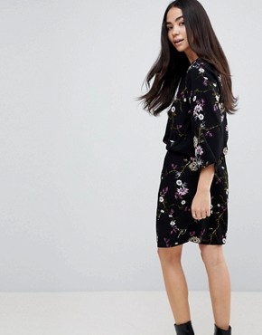 photo Floral Printed Dress by b.Young, color  - Image 2