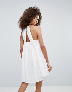 photo Corsage Dress by Traffic People, color White - Image 2