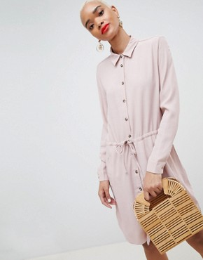 photo Shirt Dress by MbyM, color Lilac Shadow - Image 1