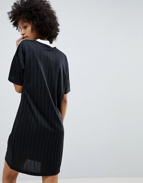 photo Adicolor Three Stripe Dress in Black by adidas Originals, color Black - Image 2