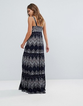 photo Printed Maxi Dress by Pepe Jeans, color Dulwich - Image 2