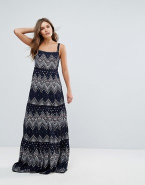 photo Printed Maxi Dress by Pepe Jeans, color Dulwich - Image 1
