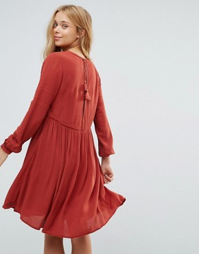 photo London Mews Dress by Pepe Jeans, color Auburn - Image 2