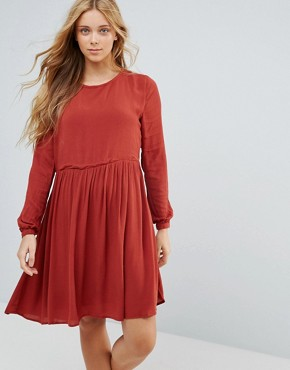 photo London Mews Dress by Pepe Jeans, color Auburn - Image 1