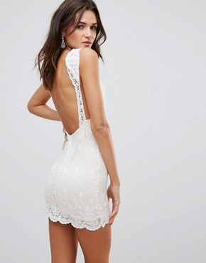 photo Mini Dress by Love & Other Things, color Cream - Image 2