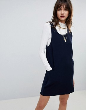 photo Anne A-Line Dress by Cubic, color Navy - Image 1