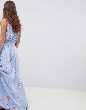 photo Cherry Blossom Maxi Dress by b.Young, color  - Image 2