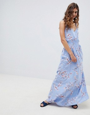 photo Cherry Blossom Maxi Dress by b.Young, color  - Image 1
