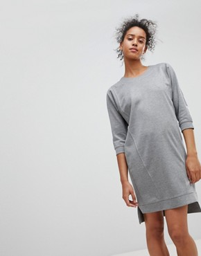 photo Jumper Dress by Moss Copenhagen, color Light Grey Melange - Image 1