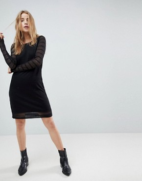 photo Viviana Knitted Dress by Bellfield, color Black - Image 1