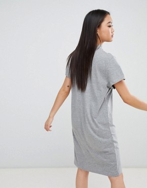 photo Square Logo Smash Dress by Cheap Monday, color Grey Mel - Image 2