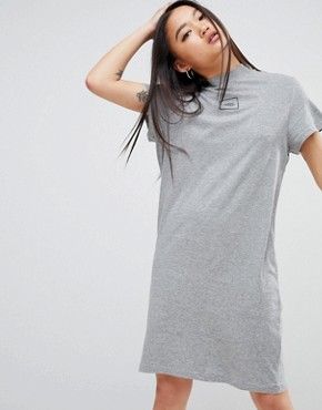 photo Square Logo Smash Dress by Cheap Monday, color Grey Mel - Image 1