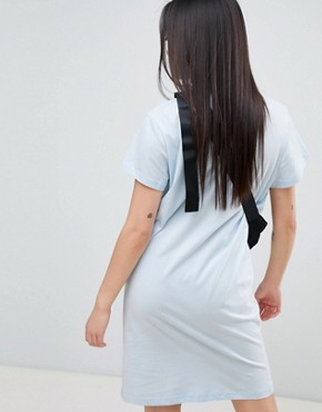 photo Square Logo Smash Dress by Cheap Monday, color Pale Blue - Image 2
