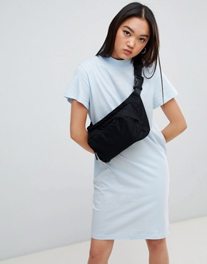 photo Square Logo Smash Dress by Cheap Monday, color Pale Blue - Image 1