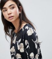 photo Floral Print Sweater Dress by Soaked in Luxury, color Multi - Image 3
