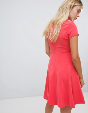 photo Skater Dress by Louche, color Pink - Image 2