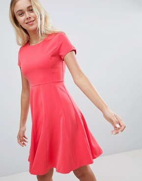 photo Skater Dress by Louche, color Pink - Image 1