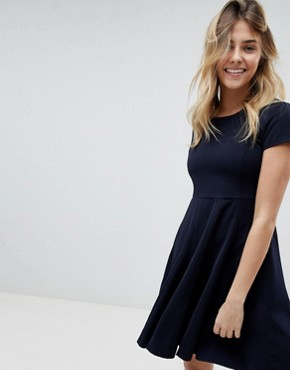 photo Skater Dress by Louche, color Navy - Image 1