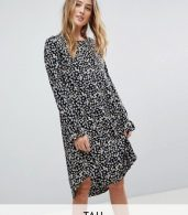 photo Sunia Ditsy Floral Print Dress by Y.A.S Tall, color Multi - Image 1