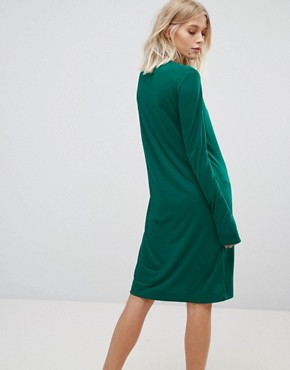 photo Column Dress by Weekday, color Green - Image 2