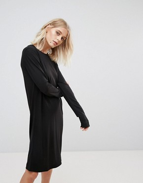 photo Column Dress by Weekday, color Black - Image 1