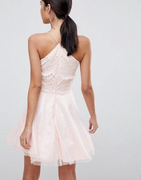 photo Strappy Lace Dress by AX Paris, color Pink - Image 2