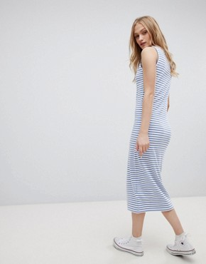 photo Jemima Striped Sleeveless Dress by Blend She, color Stipe - Image 2