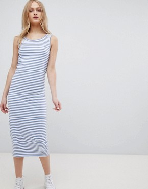 photo Jemima Striped Sleeveless Dress by Blend She, color Stipe - Image 1