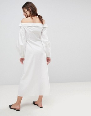 photo Rimal Maxi Dress by Style Mafia, color White - Image 2