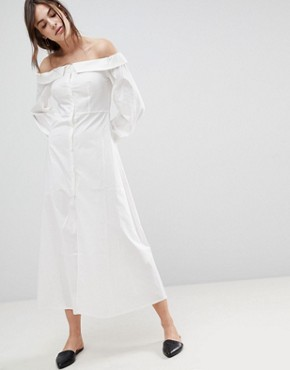 photo Rimal Maxi Dress by Style Mafia, color White - Image 1