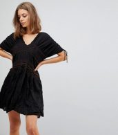 photo Love on the Run Dress by Free People, color Black - Image 1