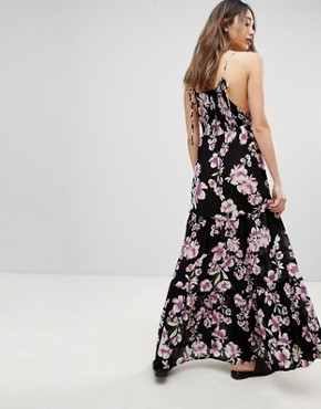 photo Garden Party Maxi Dress by Free People, color Onyx - Image 2