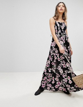 photo Garden Party Maxi Dress by Free People, color Onyx - Image 1