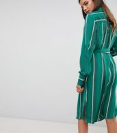 photo Stripe Shirt Dress by Y.A.S Tall, color Multi - Image 2