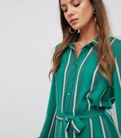 photo Stripe Shirt Dress by Y.A.S Tall, color Multi - Image 3