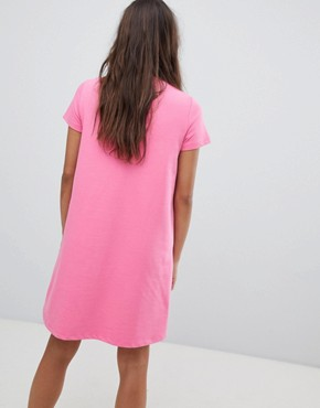 photo T-Shirt Dress by Noisy May, color Pink - Image 2