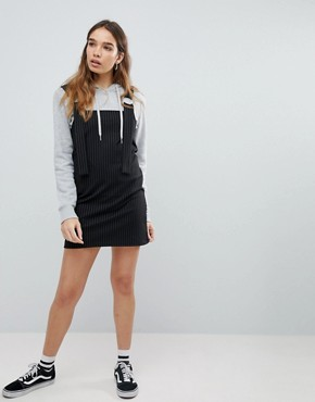 photo Stripe Pinafore by Pull&Bear, color Black - Image 4
