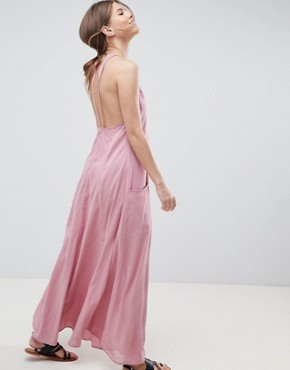 photo Casual Maxi Dress by ASOS DESIGN, color Pink - Image 2
