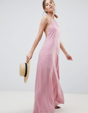 photo Casual Maxi Dress by ASOS DESIGN, color Pink - Image 1