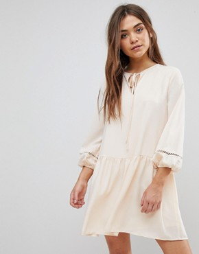 photo Smock Dress by After Market, color Champagne/Cream - Image 1