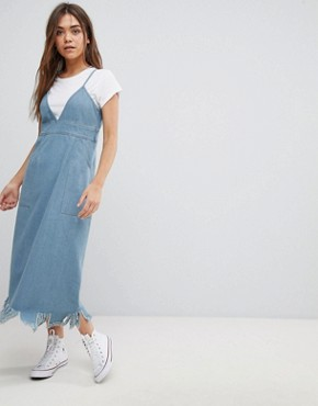 photo Denim Midi Dress by After Market, color Denim - Image 1